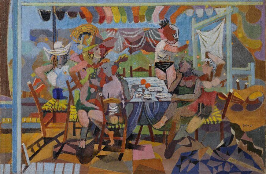 Food in Greek painting 5 – Nikos Hatzikyriakos Ghikas