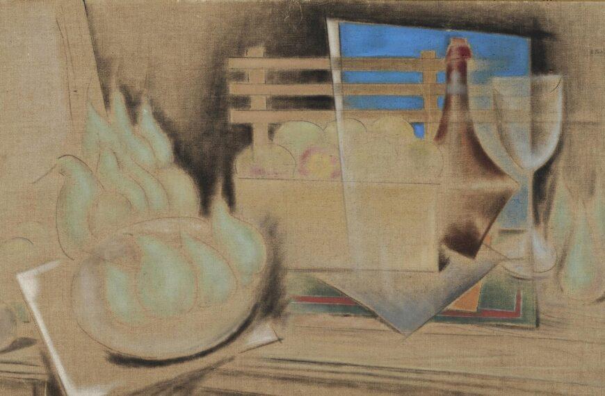 Food in Greek painting 4 – Konstantinos Parthenis