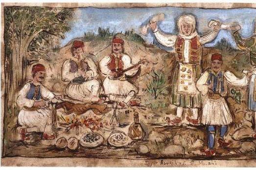 Easter in Greek painting 1